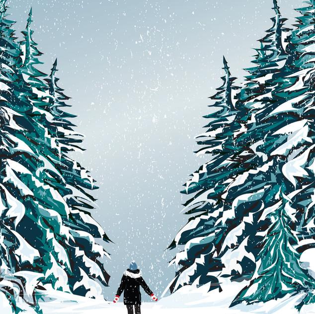 winter wander / digital art