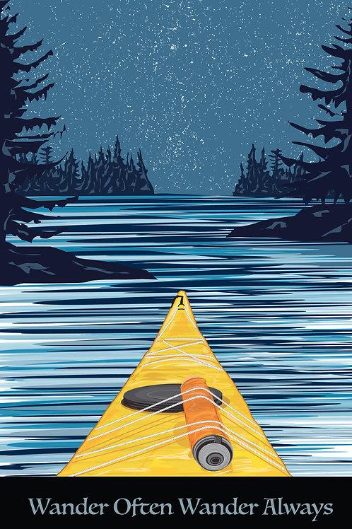 Paddle on