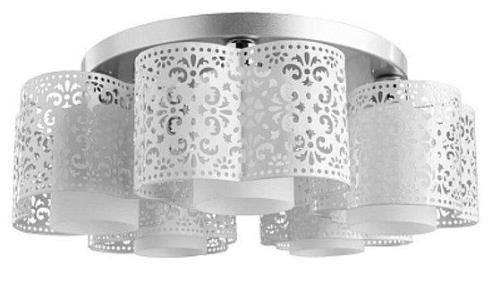 Потолочная люстра Arte Lamp Alice A8348PL-5WH