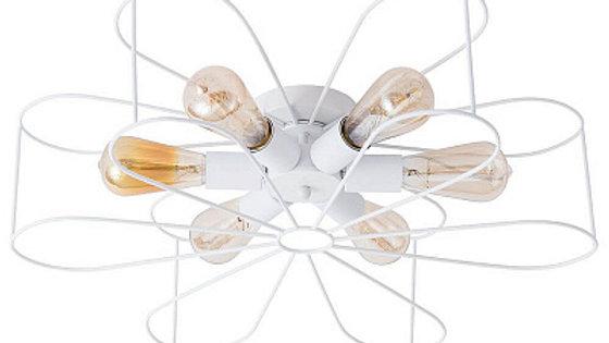 Потолочная люстра Arte Lamp A6049PL-6WH