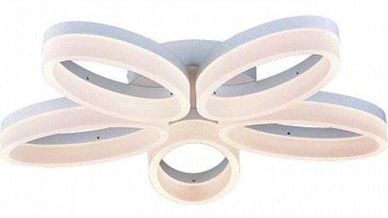 Потолочная светодиодная люстра Arte Lamp 40 A9227PL-5WH