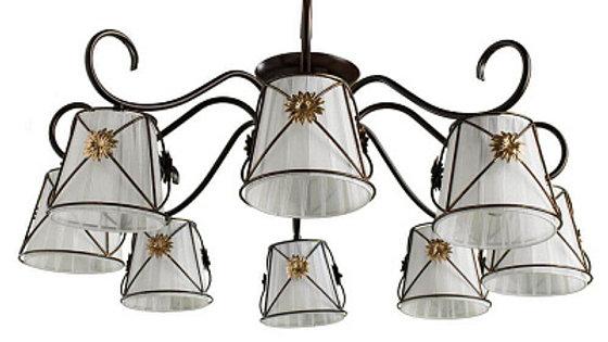 Потолочная люстра Arte Lamp 72 A5495PL-8BR