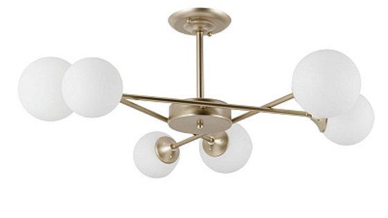 Потолочная люстра Arte Lamp Marco A2703PL-6SG