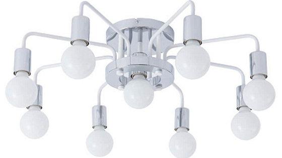 Потолочная люстра Arte Lamp A6001PL-9WH