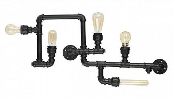 Потолочная люстра Ideal Lux Plumber PL5 Nero