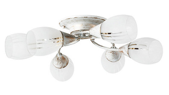 Потолочная люстра Arte Lamp Penny A2701PL-6WG