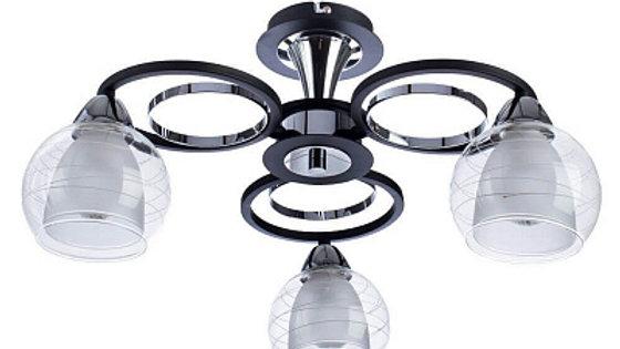 Потолочная люстра Arte Lamp Ginevra A1604PL-3BK