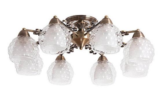 Потолочная люстра Arte Lamp Malina A7695PL-8AB