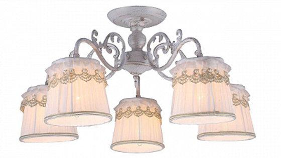 Потолочная люстра Arte Lamp Merletto A5709PL-5WG