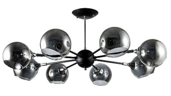 Потолочная люстра Arte Lamp Lagos A2708PL-8BK