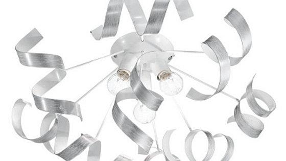 Потолочная люстра Ideal Lux Vortex PL3 Argento