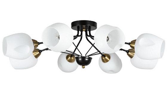 Потолочная люстра Arte Lamp Brighton A2706PL-8CK