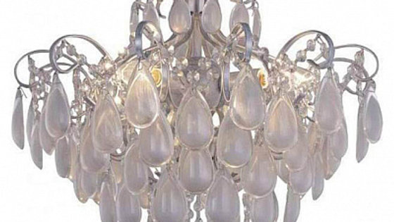 Потолочная люстра Crystal Lux Sevilia PL4 Silver