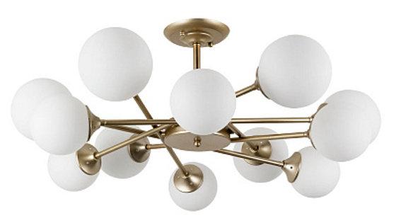 Потолочная люстра Arte Lamp Marco A2703PL-12SG