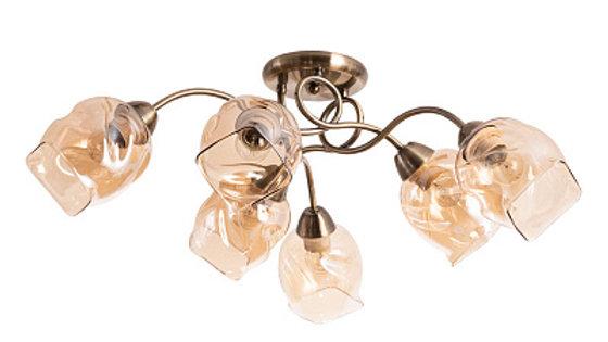 Потолочная люстра Arte Lamp Riccio A7758PL-6AB