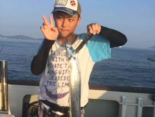 7/29太刀魚~キス釣り
