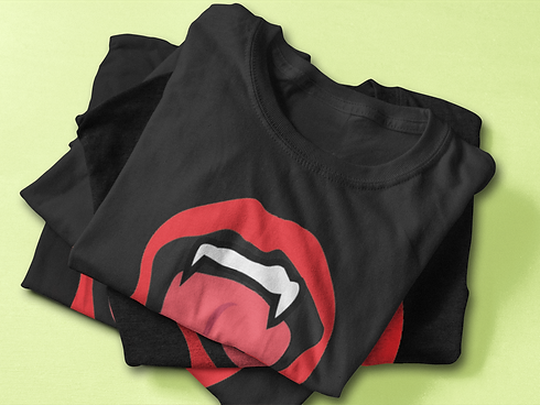 green-vampire-folded-t-shirt-mockup-feat