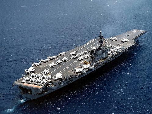USS Kitty Hawk (CVA 63) in 1962
