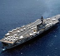 USS_Kitty_Hawk_(CVA-63)_underway_in_June