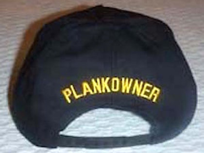 "Add ""Plankowner"" to any ballcap"