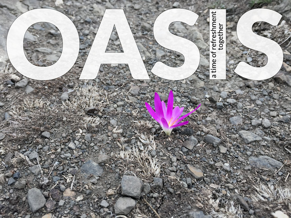 Oasis: a time of refreshment together