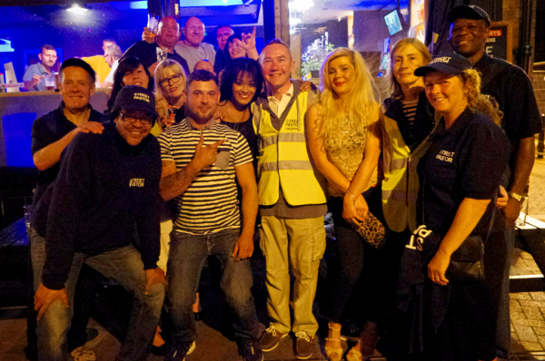 Rugby Street Pastors in action