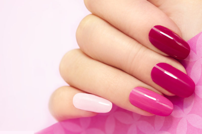 Gel polish on Hands (File & Paint)