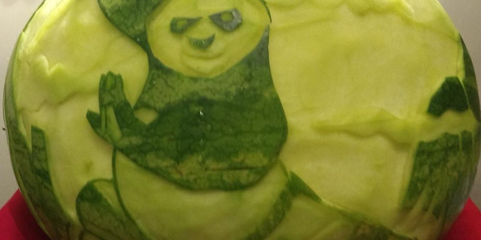 2 Hr Creepy Custom Carving Class-Kids $25