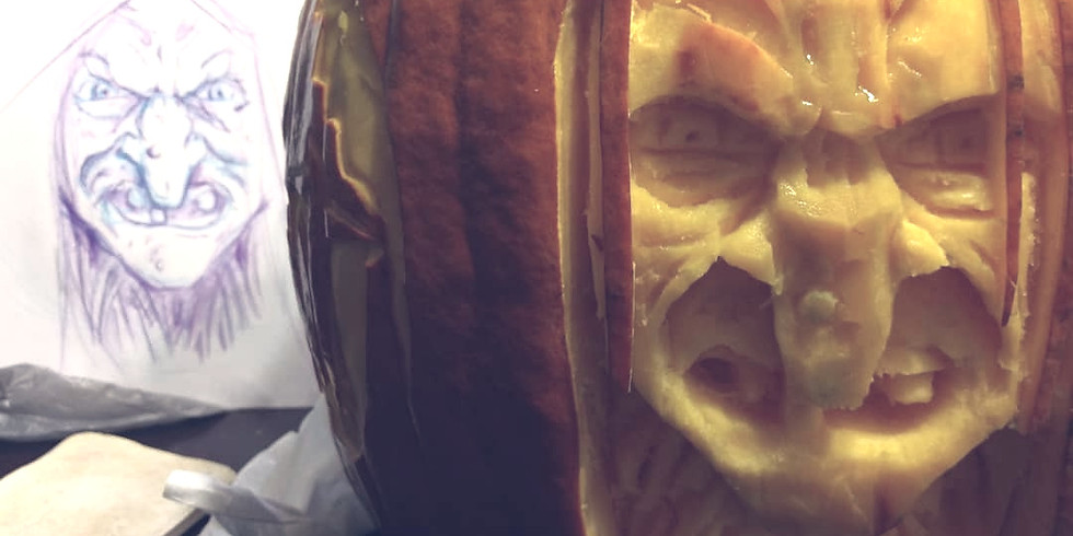 2 Hr Creepy Custom Carving Class-Adults $45