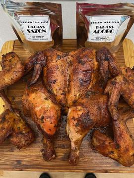 Same Blend on Whole Chicken by Jay Cruz