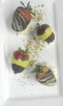 Turmeric Chocolate Dips