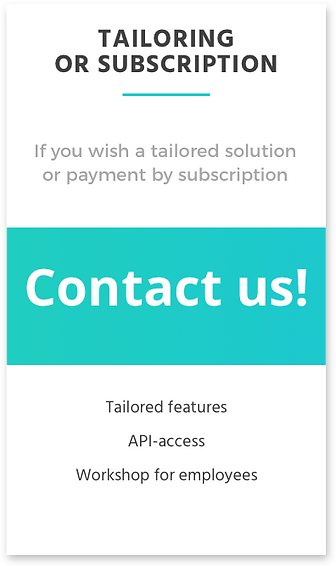 Tailored or subsciption price