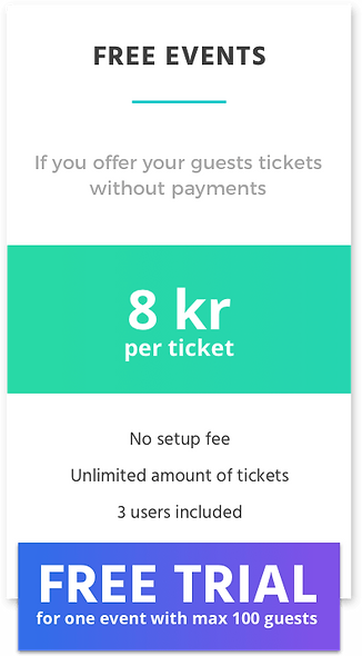 Free events price