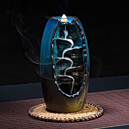 24 Kinds Creative Reflux Incense Holder Ceramic Backflow Waterfall  Burner
