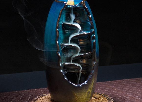 24 Kinds Creative Reflux Incense Holder Ceramic Backflow Waterfall  Burner