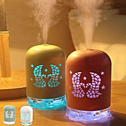 1PC Air Humidifier Ultrasonic Aroma Essential Oil Diffuser Mini Car USB Fogger