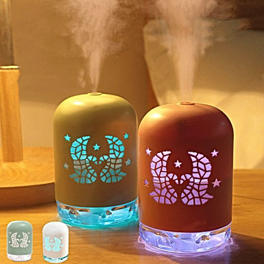 1PC Air Humidifier Ultrasonic Aroma Essential Oil Diffuser Mini Car USB Fogger