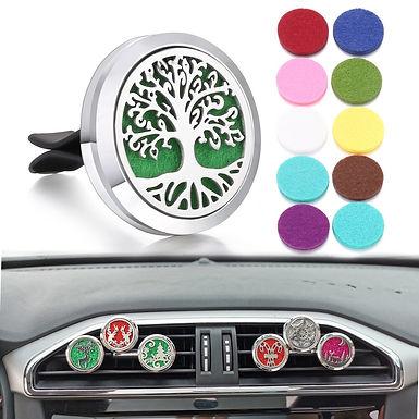 Tree of Life Car Vent Freshener Essential Oil Perfume Locket Drop Shipping