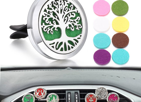 Tree of Life Car Vent Freshener Essential Oil Perfume Locket Drop Shipping