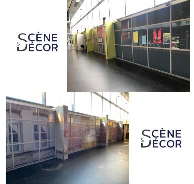 Aménagement du hall d'un EPHAD  Etude et réalisation par Scène Et Décor