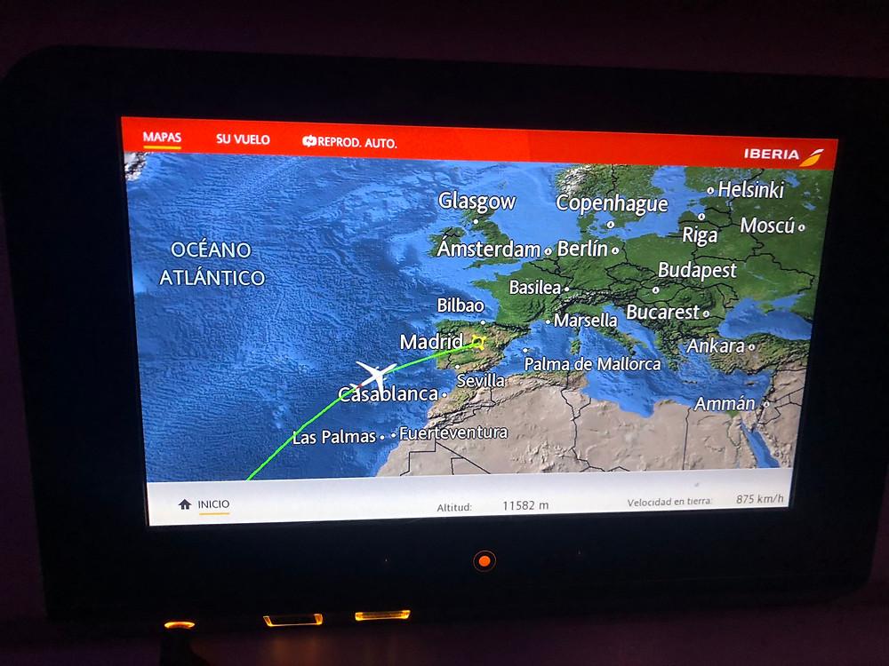 Como é Voar Iberia