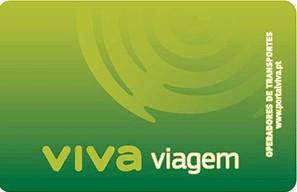Cartão Viva Viagem Lisboa