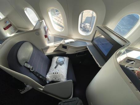 Como é voar na classe executiva da Aeromexico