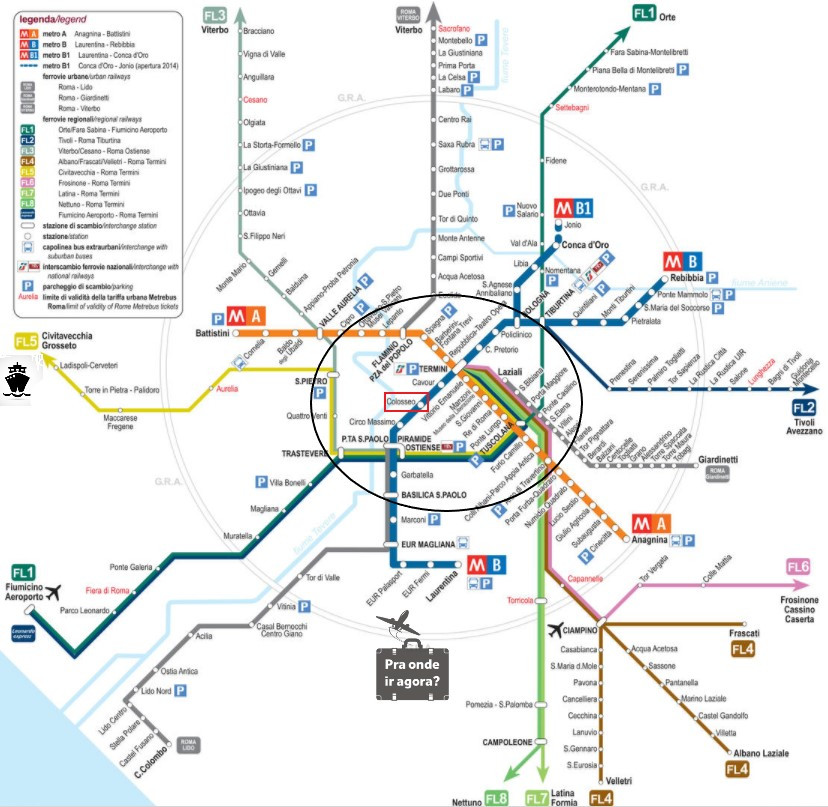 Plano de Transporte de Roma
