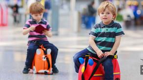 Formulário para viagem de criança desacompanhada dos pais