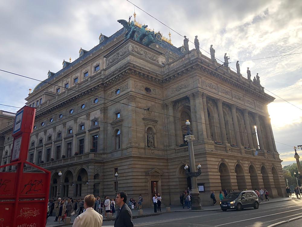 Teatro Nacional Praga