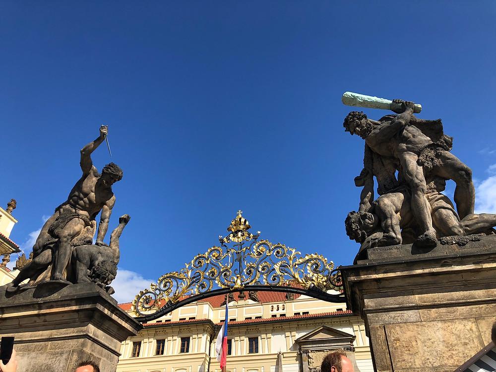 Portão Castelo de Praga
