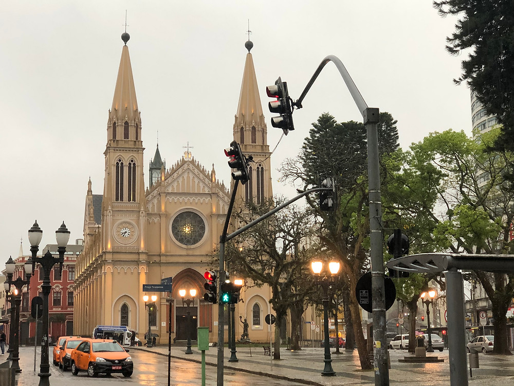 Praça Tiradentes Curitiba