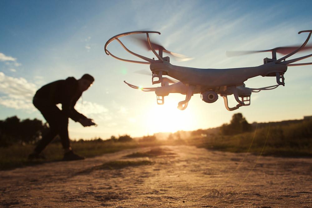 Viajando com Drone