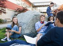 Студенты на перерыв